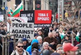 Popular revolt  in Bulgaria