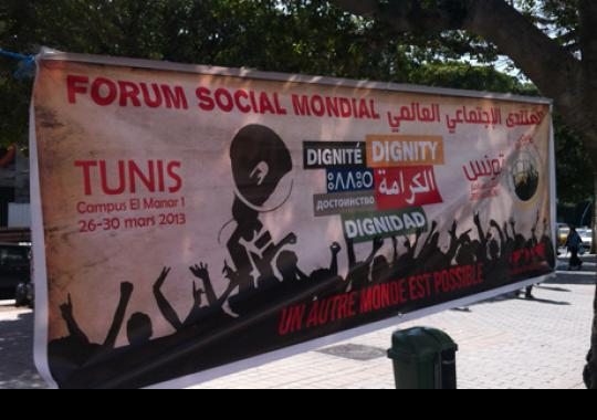 World Social Forum 2013