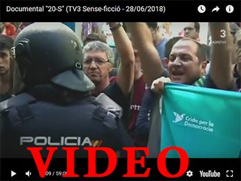 20 de septiembre 2017: Movilizaciones y represion en Catalunya (Documental)