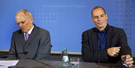 2018 02 19 02 Schauble et Varoufakis
